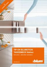 Blum TIP-ON Blumotion Tandembox