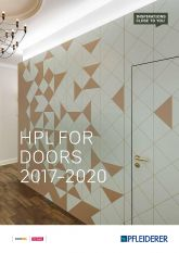Pfleiderer HPL for Doors 2017-2020
