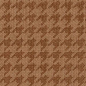 F76068 (F8687) Houndstooth rust